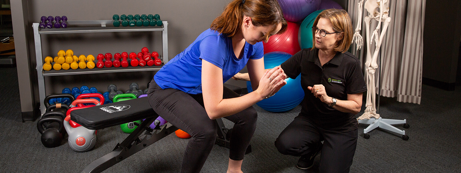 Physiotherapy for work-related injuries